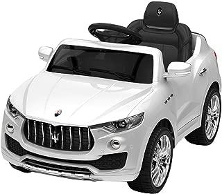 Electric Riding Vehicle, 6 V Licensed Maserati Kids Ride on Car, White