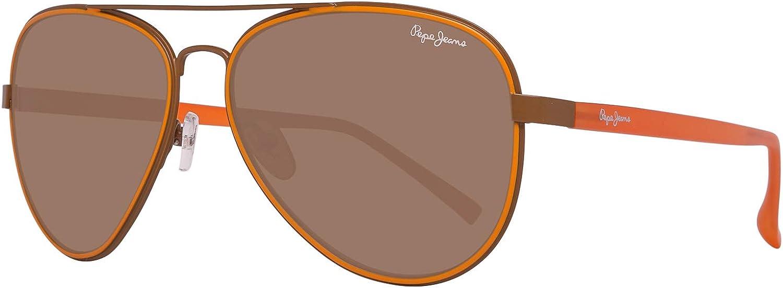Pepe Jeans Men's Sunglasses PJ5123C (ø 59 mm) Marron (Brown)