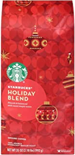 Starbucks Holiday Ground Coffee, Herbal & Sweet, 35 Ounce