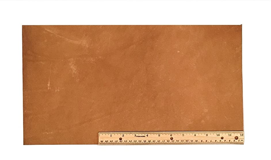 Scrap Lace Leather Light Brown Cowhide 10