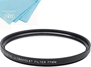 77mm Multi-Coated UV Protective Filter for Nikon COOLPIX P1000 16.7 Digital Camera