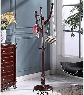 Porte-Manteau en Bois De Salon, Crochets Multiples Crochets De Support De Plancher Lourds Crochets De Parapluie De Hall De...