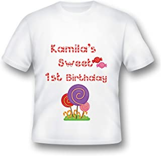 aa4e66ac Custom Sweet Candy Land Birthday tee shirt, Candy Land Party, Candy shoppe  shirt,