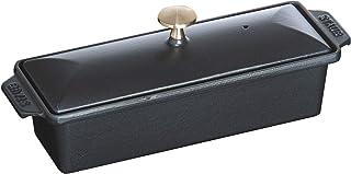 STAUB Terrine Rectangular 30cm x 11cm Black