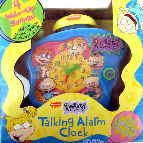 Nickelodeon Rugrats Talking Alarm Clock