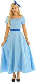 Womens Adult Anime Princess Cosplay Halloween Dress Fancy Dress Outfits