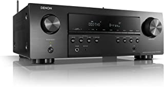 Denon AVR-S650H Audio Video Receiver, 5.2 Channel (150W X 5) 4K UHD Home Theater Surround Sound (2019) | Music Streaming |...