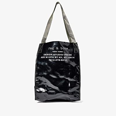 rag & bone 425 Packable Tote (Black) Handbags