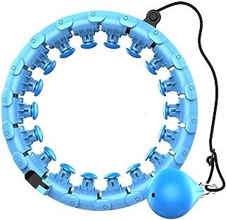 Fitness Sports Hoop Smart Hula Hoop Justerbar tunn midjaövning Gym Hoop Fitness Equipment Hemträning