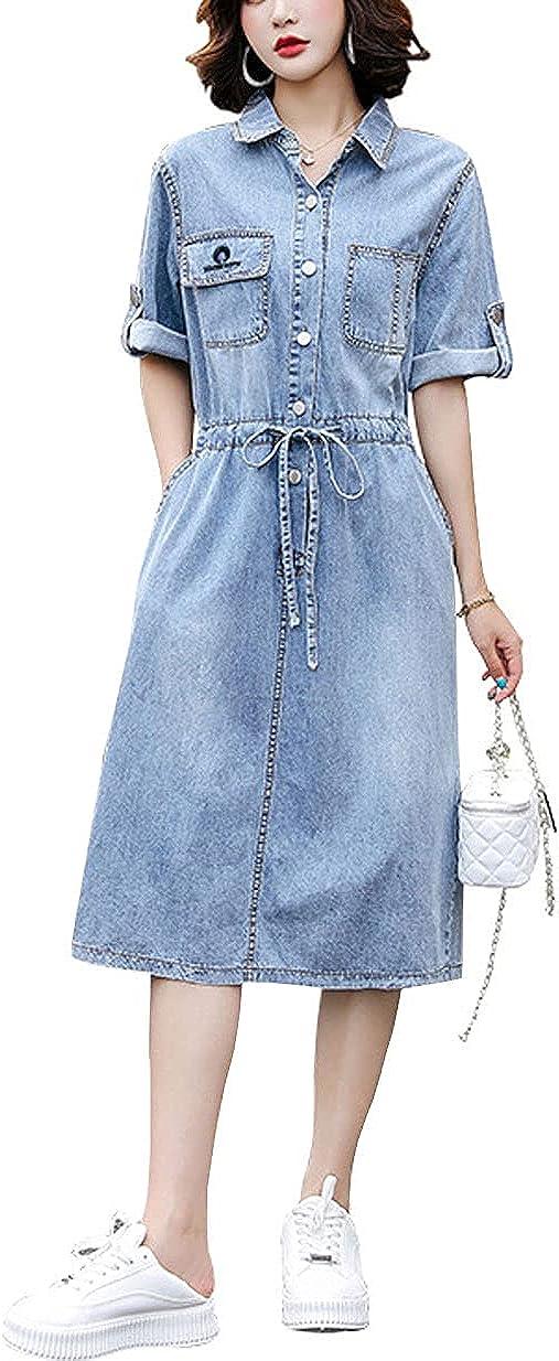 chouyatou Dedication Women's Casual Button Japan Maker New Down Slee Short Drawstring Waist