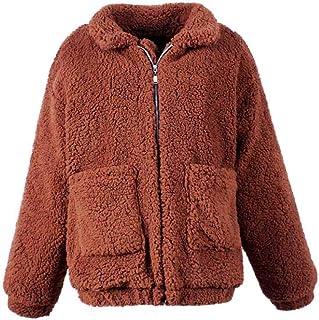 Amazon.es: chaquetas de borrego mujer: Ropa