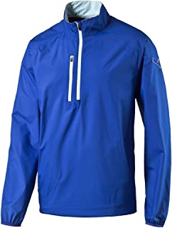 PUMA Golf Men's 1/2 Zip Wind Jacket