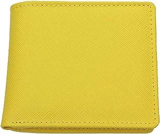 【一流のイタリアンレザー】短財布 二つ折り財布 メンズ 革財布