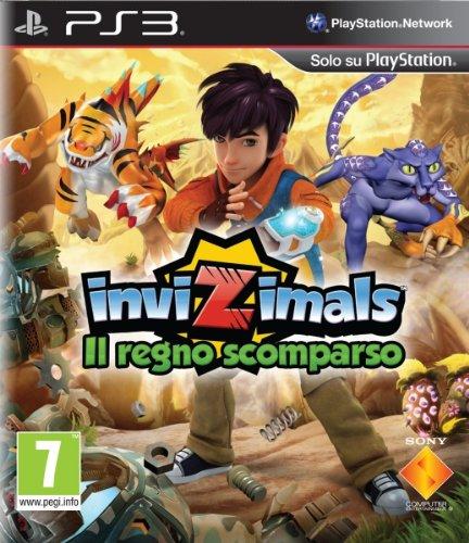 Sony Invizimals - Juego (PS3, PlayStation 3, Acción / Aventura, ITA)