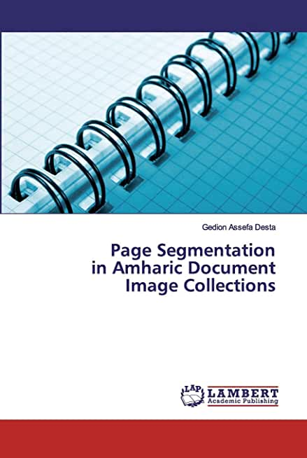 Page Segmentation in Amharic Document Image Collections