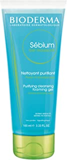 Bioderma Sebium Gel Moussant Purifying Cleansing Foaming Gel For Combination To Oily Skin, 100 ml