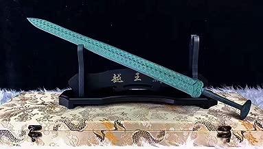 China jian,Bronze Sword,Overall Brass Production,Green Surface,Sword of Goujian Replica