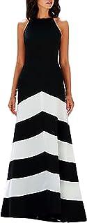 newest dcfcc e0961 Amazon.it: Vestito bianco nero: Abbigliamento