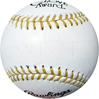 Tony Gwynn Autographed Official Gold Glove Baseball Padres PSA/DNA #AC23136