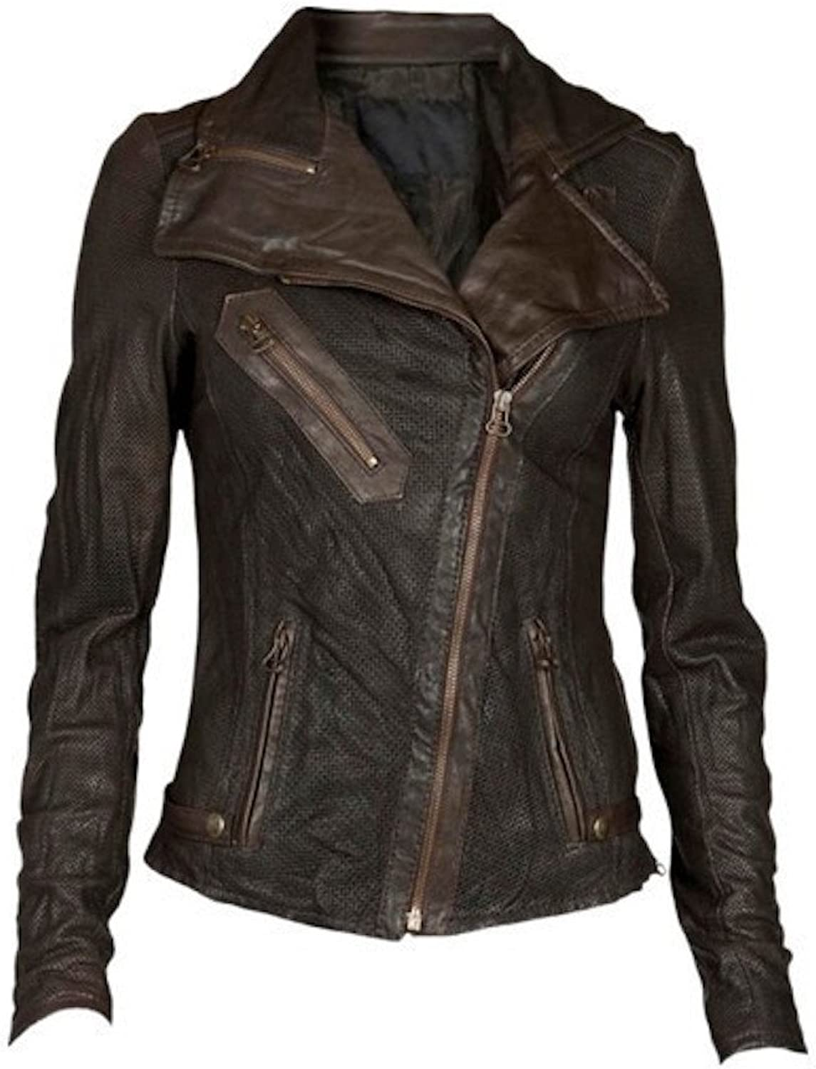 Fadcloset Alayna Womens Leather Jacket