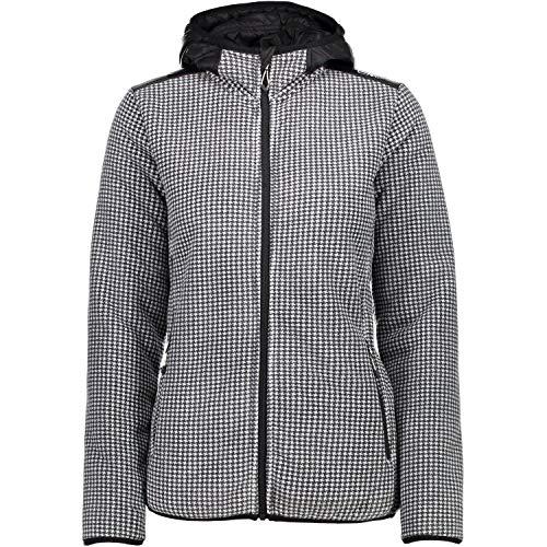 CMP Femme Fix Hood Jacket - U901 Nero, 38