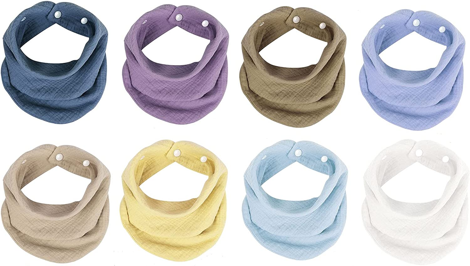 Max 81% OFF Muslin Bandana Bibs Clearance SALE! Limited time! 100% Organic Infant Absorb Scarf Soft