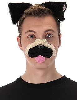 elope Pug Ears Headband Nose and Tail Kit