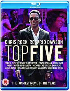 Top Five [Blu-ray] [2015] [Region A & B & C]