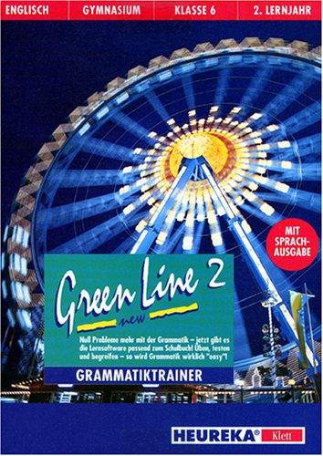 Preisvergleich Produktbild Green Line New 2. Grammatiktrainer. CD- ROM für Windows 3.1 / 95