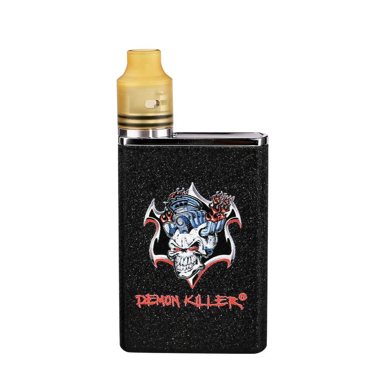 レポートを書く四面体ブランデー【正規品】Demon Killer TINY RDA kit 電子タバコセット (ブラック)