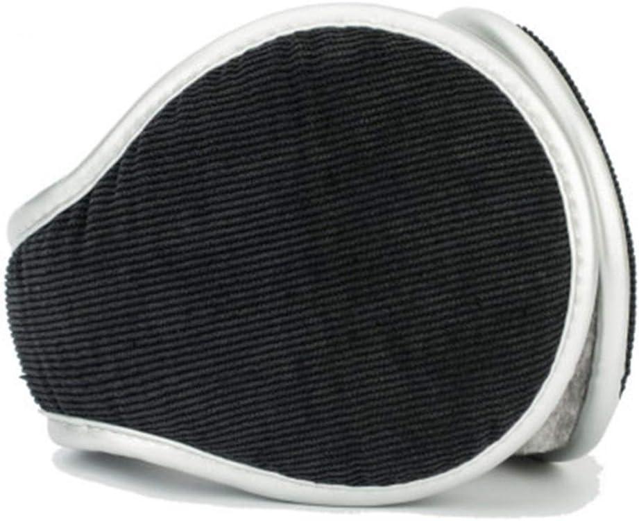 ZYXLN-Earmuffs,Men and Women Children Warm Earmuffs Multi-Angle Foldable Carrying More Convenient Earmuffs Winter Outdoor Earmuffs (Color : Black)