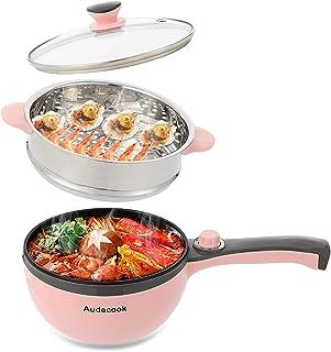 Audecook Pot électrique rose