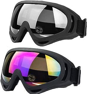 <h2>JTENG Skibrille Schutzbrille Motocross Goggle Sportbrille Schneebrille Wintersport Brille Winddicht Staubschutz Fliegerbrille Snowboardbrille Schneebrille Skibrille</h2>