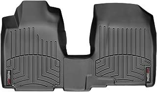 WeatherTech Custom Fit Front Over the Hump FloorLiner for Honda CR-V, Black