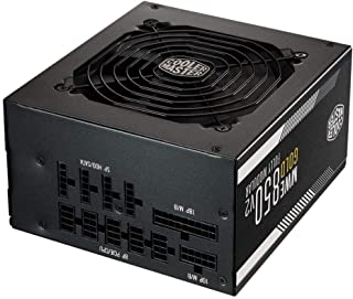 Cooler Master MWE Gold 850 V2 Full Modular, 850W, 80+ Gold Efficiency, 2 EPS Connectors, 120mm HDB Fan, Semi-fanless Opera...