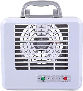 WANGSHI Mini Enfriador de Aire, Enfriador Portátil, Ventilador Refrescante | Ventilador del Aire Acondicionado Batería de Litio Incorporada 1200 MAh, Tercer Engranaje, Plástico Ecológico ABS