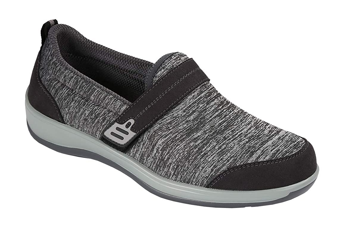 Orthofeet Quincy Comfortable Slip-on Orthopedic Diabetic Flat Feet Womens Walking Shoes