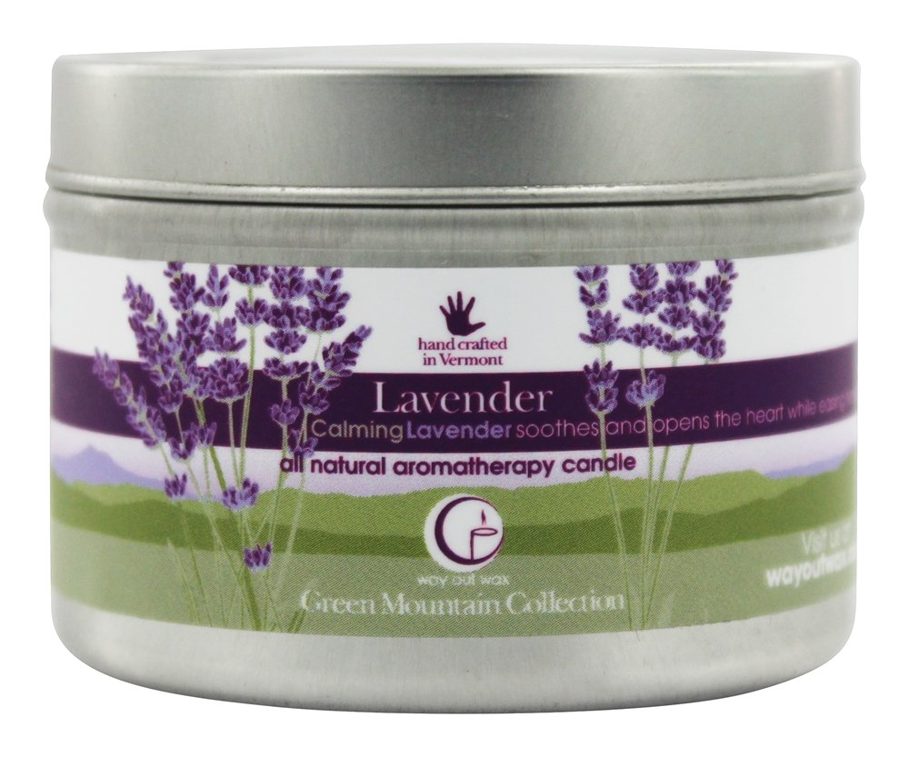 Way Out Wax safety Miami Mall Aromatherapy Scented Fragrance Candle Lavender 3