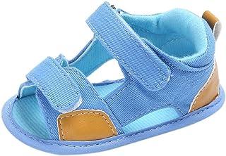 040a54962a2592 Chaussures de Bébé Sandales,🎀LuckyGirls Mode Été Bébé Garçons Sandales  Anti-Dérapante Doux