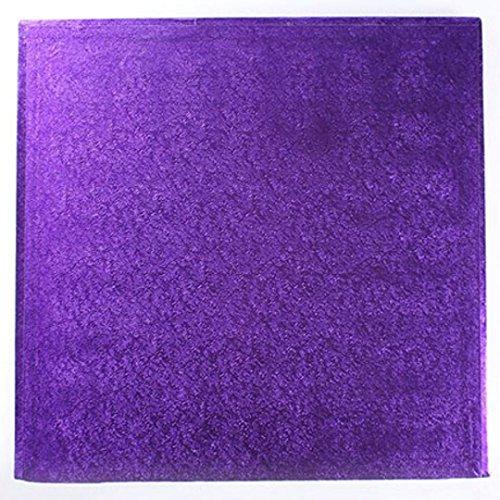 30,5 cm carré Violet pour gâteau