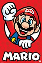Pyramid America Super Mario Bros Mario Nintendo Laminated Dry Erase Sign Poster 12x18