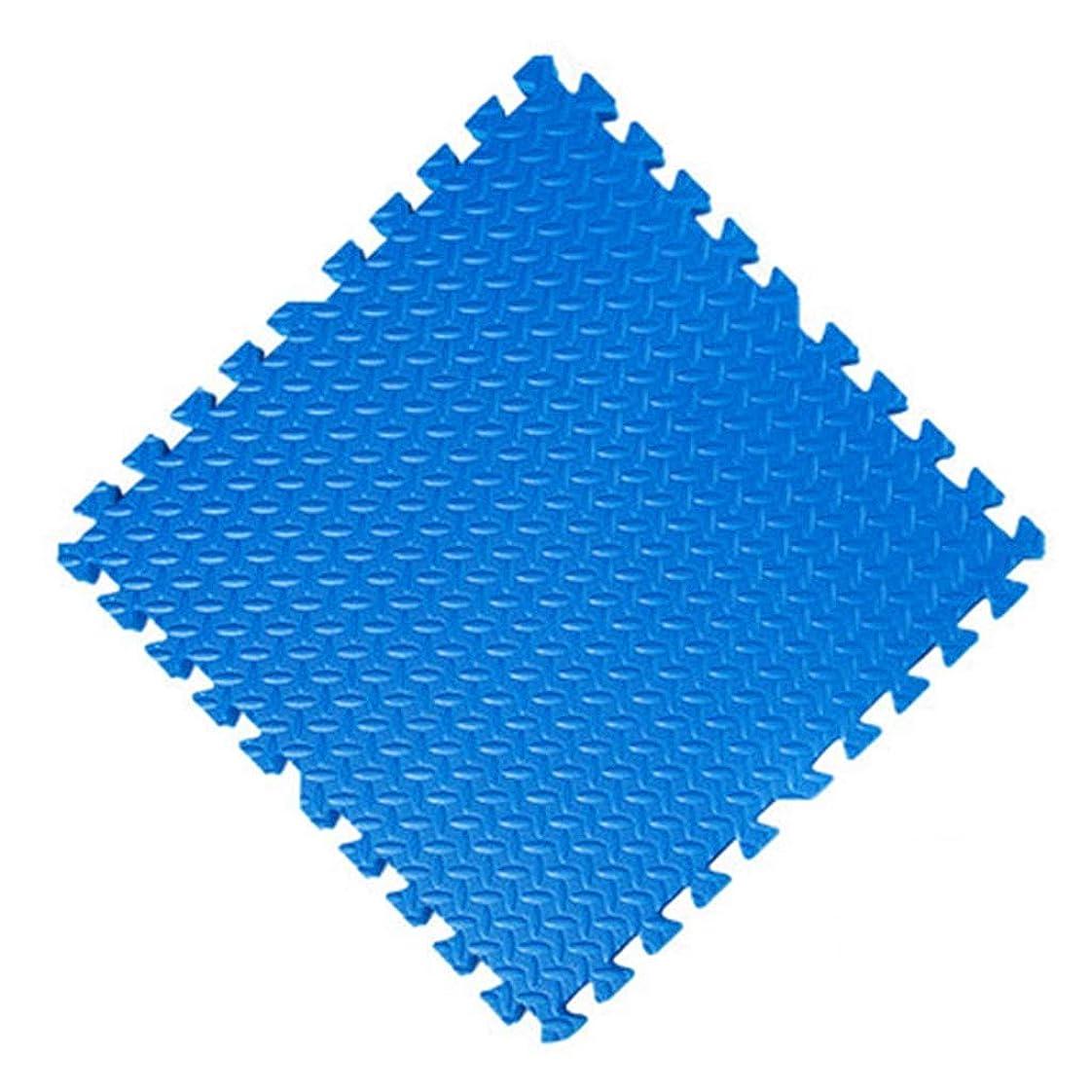 作業いとこ折RBZCCP 家庭用フロアマット防水快適なリビングルームの寝室畳クライミングマット (Color : Blue, Size : M)
