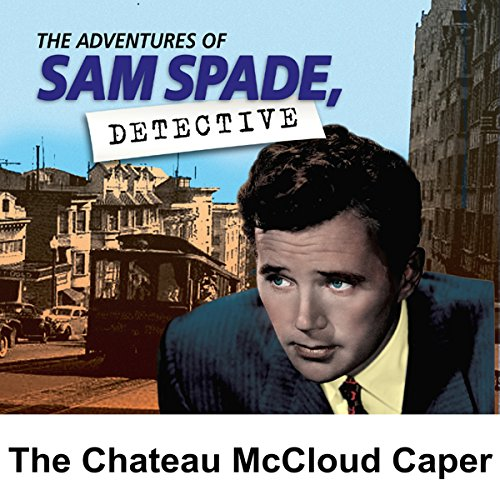 Couverture de Sam Spade: The Chateau McCloud Caper