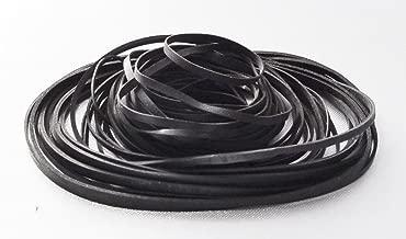 flat rubber drive belts