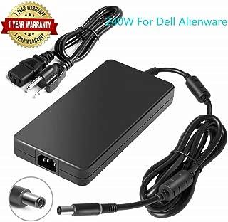 Slim 240W AC Laptop Power Adapter for PA-9E GA240PE1-00 DELL Precision M6400 M6500 M6700 M6800 M4700 DELL Alienware 15 Alienware 14 Alienware 13 Alienware M17x M18x Laptop Charger 7.4x5.0mm