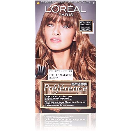 LOreal Paris Preference Coloración Permanente Préférence 003 Light Brown to Dark Blond