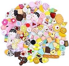 LAVALINK Leuke Candy Hars Bedels Kralen Fruit Dessert Ijs Plastic Plakken Flatback Knoppen voor Handcraft Accessoires Scra...