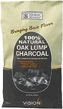 Vision Grills 100% Natural Oak Lump Charcoal 20 lb. Bag