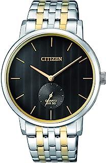 ساعة كوارتز للرجال من سيتيزن، عرض انالوج وسوار ستانلس ستيل - BE9174-55E