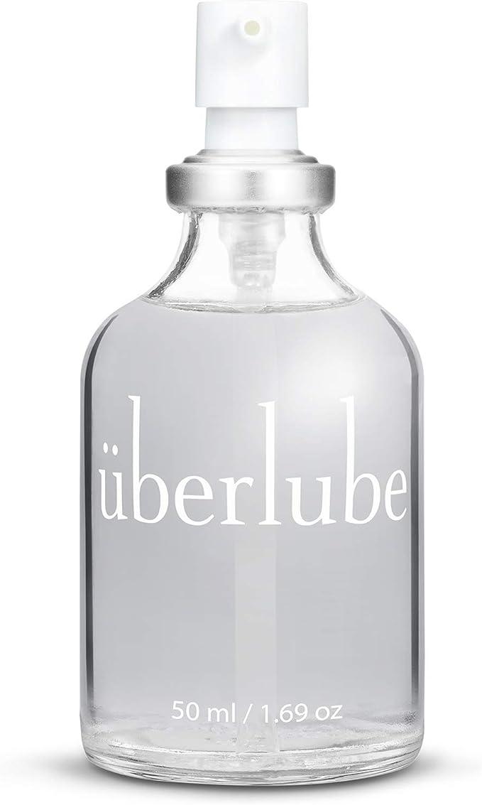 Image of Überlube Luxury Lubricant | Latex-Safe Natural Silicone Lube with Vitamin E |…